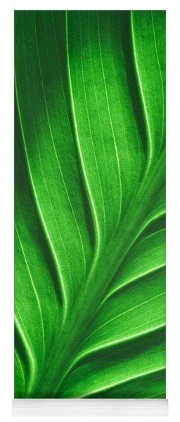 Leaf Pattern Yoga Mat