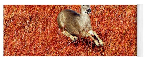 Leaping Deer Yoga Mat
