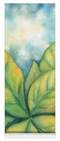 Leaves Yoga Mat