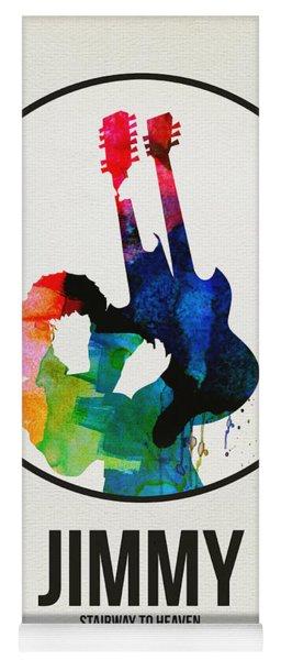 Led Zeppelin Watercolor Yoga Mat