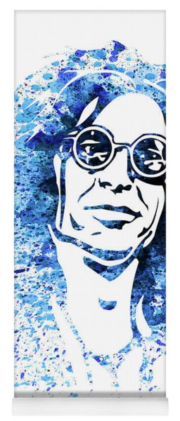 Legendary Howard Stern Watercolor Yoga Mat