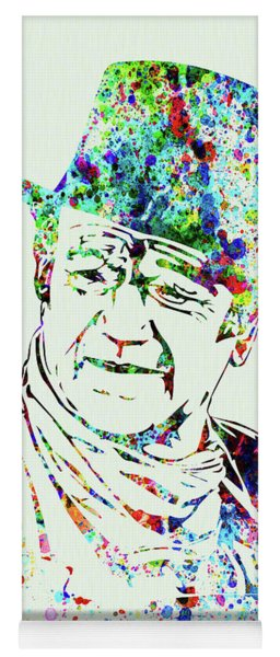 Legendary John Wayne Watercolor Yoga Mat