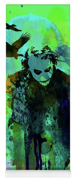Legendary Joker Watercolor Yoga Mat