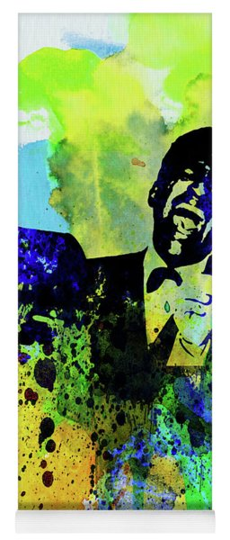 Legendary Rat Pack Watercolor Yoga Mat