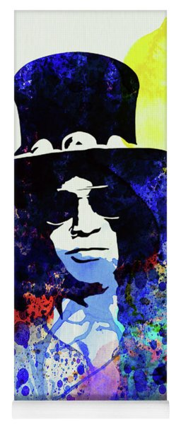Legendary Slash Watercolor I Yoga Mat