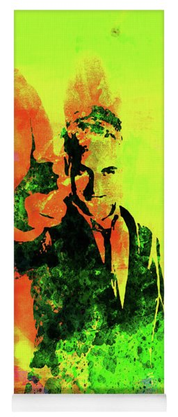 Legendary Trainspotting Watercolor I Yoga Mat