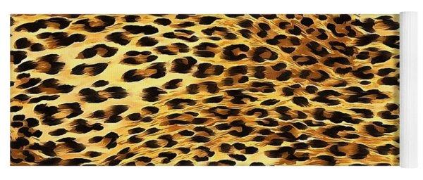 Leopard Skin Camouflage Pattern  Yoga Mat