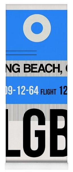 Lgb Long Beach Luggage Tag I Yoga Mat