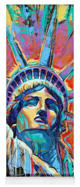 Liberty In Color Yoga Mat