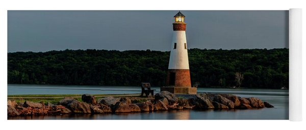 Lighthouse Reflection Yoga Mat