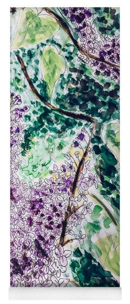 Lilac Dreams Yoga Mat
