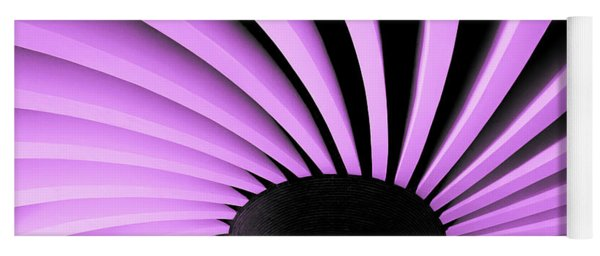 Lilac Fan Ceiling Yoga Mat