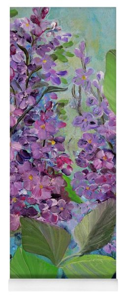Lilac Love Yoga Mat