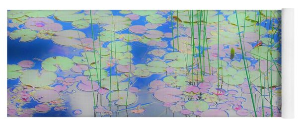Lily Pads1 Yoga Mat