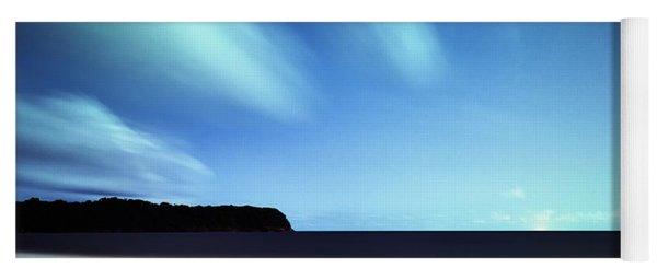 Linear Clouds Over Mayaro Yoga Mat
