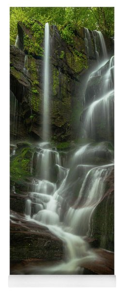 Linville Gorge - Waterfall Yoga Mat