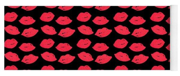 Lips Yoga Mat