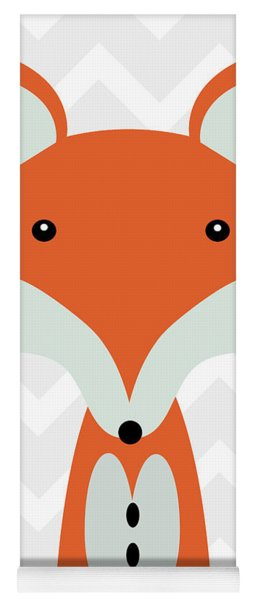 Little Fox Nursery Art Yoga Mat
