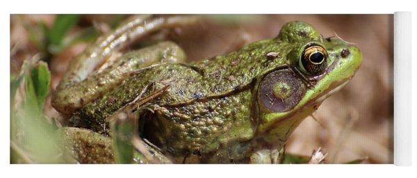 Little Green Frog Yoga Mat