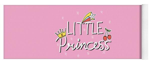 Little Princess - Baby Room Nursery Art Poster Print Yoga Mat