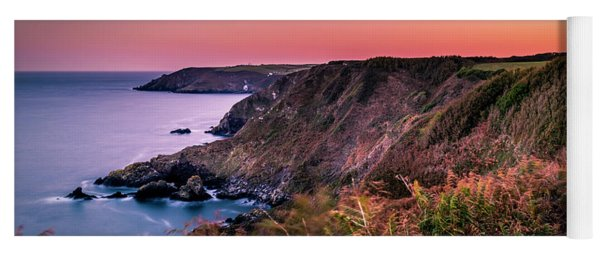 Lizard Point Sunset - Cornwall Yoga Mat