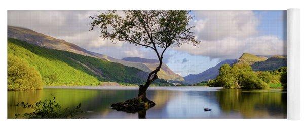 Llyn Padarn, Snowdonia Yoga Mat