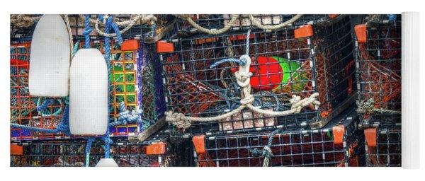 Lobster Traps Yoga Mat