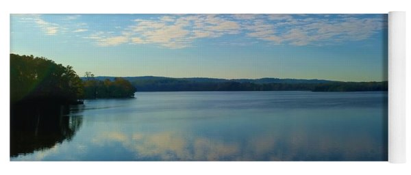 Loch Raven Reservoir Bridge Yoga Mat