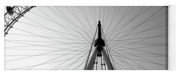 London_eye_i Yoga Mat