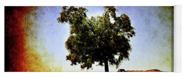 Lone Tree On The Hill Yoga Mat