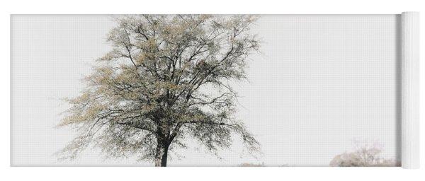 Lonely Tree #minimalism Yoga Mat