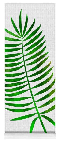 Lonely Tropical Leaf I Yoga Mat