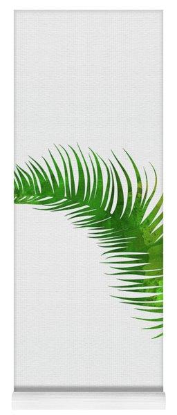 Lonely Tropical Leaf Yoga Mat
