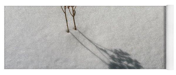 Long Shadow Of Winter Yoga Mat