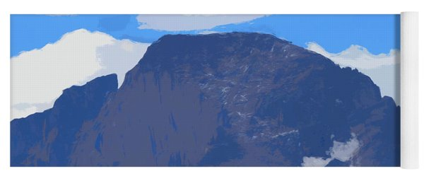 Longs Peak Elevation Yoga Mat