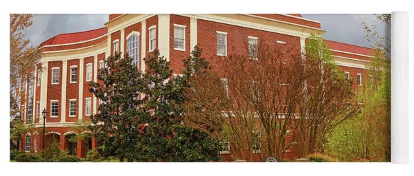 Chichester Hall At Longwood University Farmville Virginia Yoga Mat