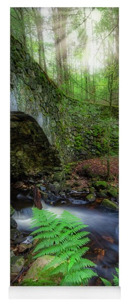 Yoga Mat featuring the photograph Lost Bridge by Bill Wakeley