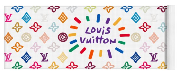 Louis Vuitton Monogram-12 Yoga Mat