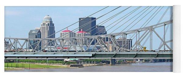 Louisville Across The River Yoga Mat