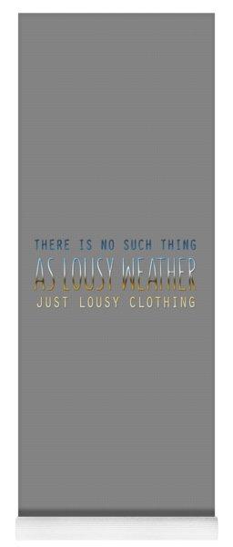 Lousy Clothing Yoga Mat