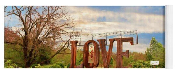 Love In Farmville Virginia Yoga Mat