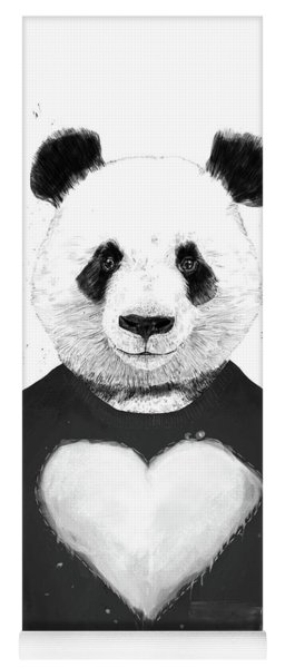 Lovely Panda  Yoga Mat