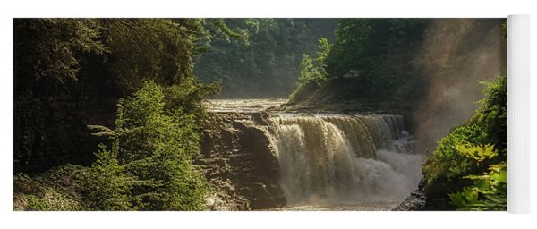 Lower Falls Letchworth State Park Yoga Mat