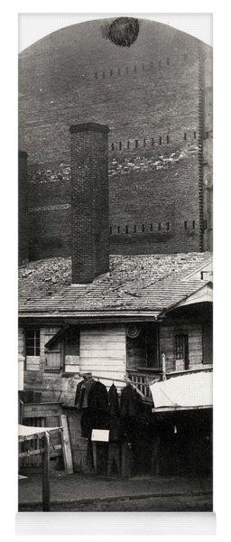 Loxley House, Philadelphia, Ca. Late 1850s Yoga Mat
