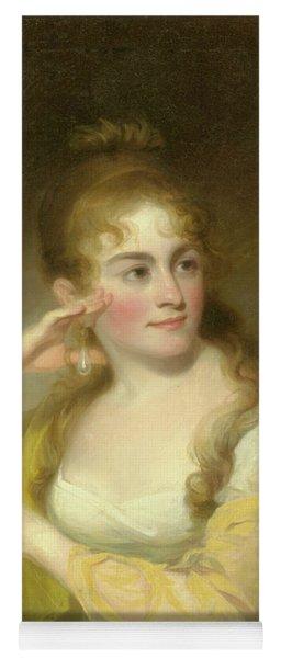 Portrait Of Lydia Leaming, 1806 Yoga Mat