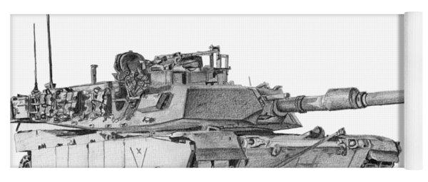 M1a1 C Company Xo Tank Yoga Mat