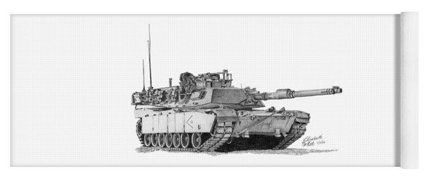 M1a1 D Company 2nd Platoon Commander Yoga Mat