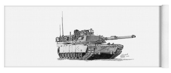 M1a1 D Company Xo Tank Yoga Mat