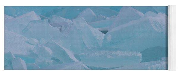 Mackinaw City Ice Formations 21618010 Yoga Mat