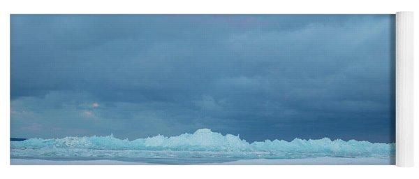 Mackinaw City Ice Formations 21618011 Yoga Mat